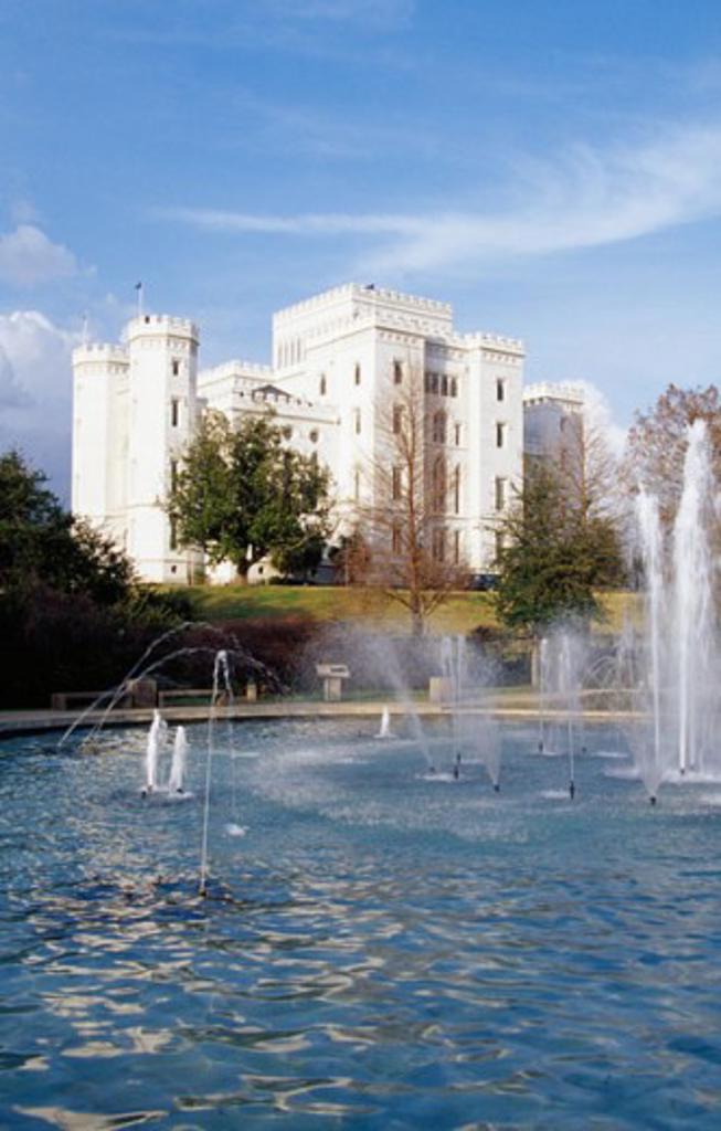 Repentance Fountain Old State Capitol Baton Rouge Louisiana, USA : Stock Photo