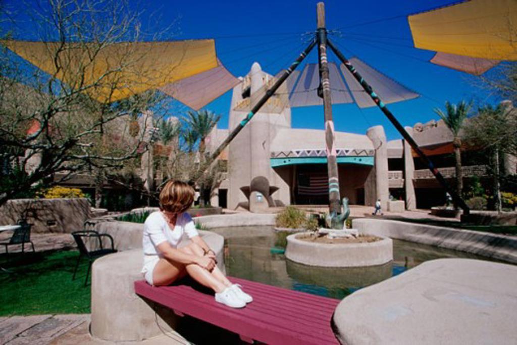 Stock Photo: 1486-6360 El Pedregal Festival Marketplace, Scottsdale, Arizona, USA