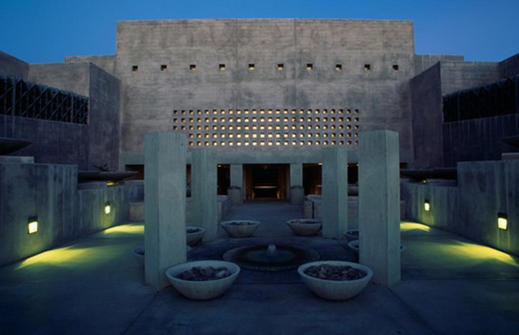 Stock Photo: 1486-6364 Nelson Fine Arts Center Tempe Arizona USA