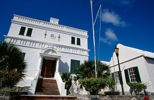 Old State House St. George Bermuda : Stock Photo