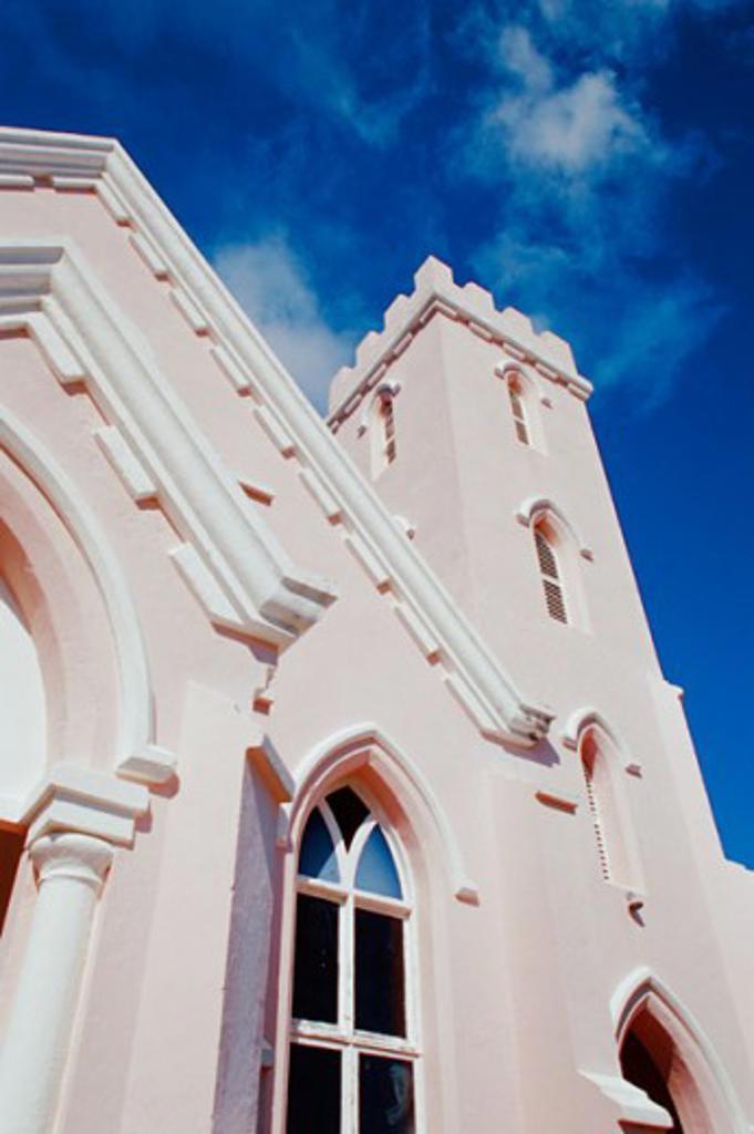 Stock Photo: 1486-652 Salvation Army Church St. George Bermuda