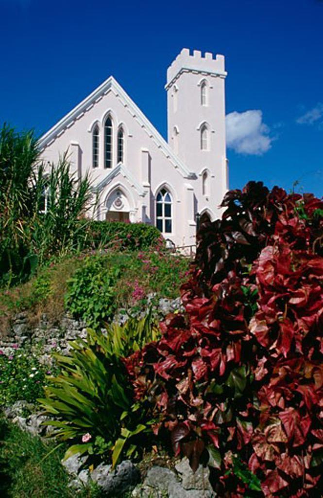 Stock Photo: 1486-653 Salvation Army Church St. George Bermuda