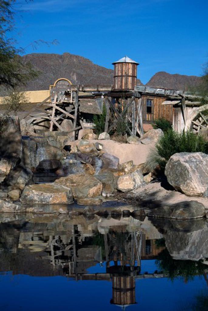 Stock Photo: 1486-6530 Old Tucson Studios Arizona USA