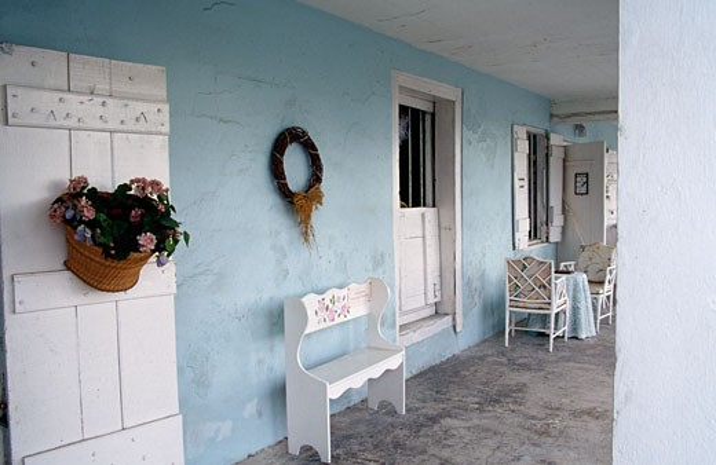 Stock Photo: 1486-658 Hunter Building St. George Bermuda