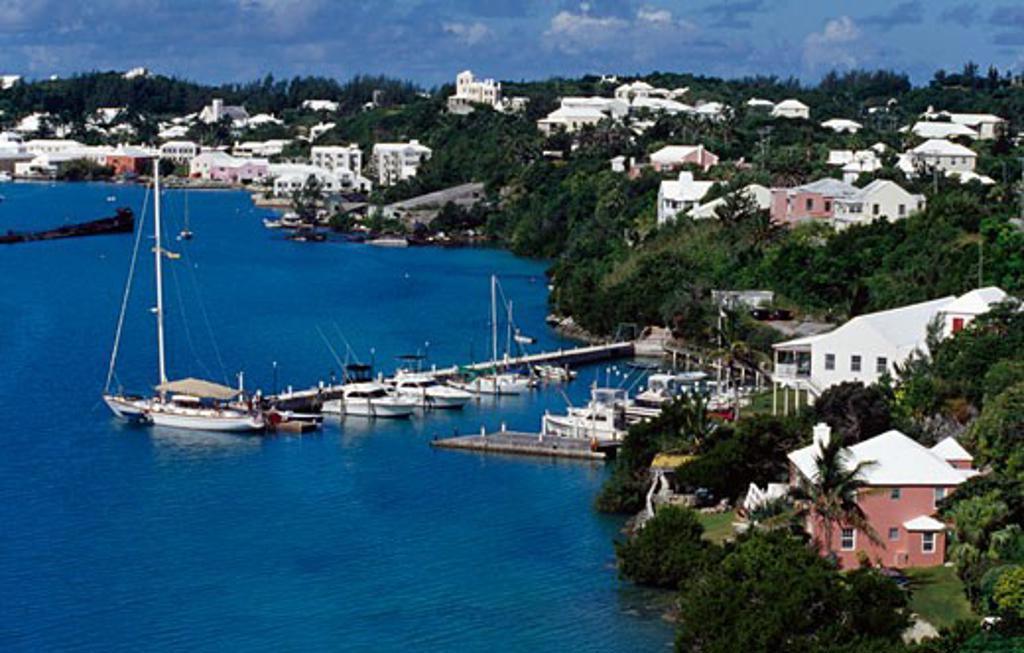Stock Photo: 1486-671 St. George Bermuda