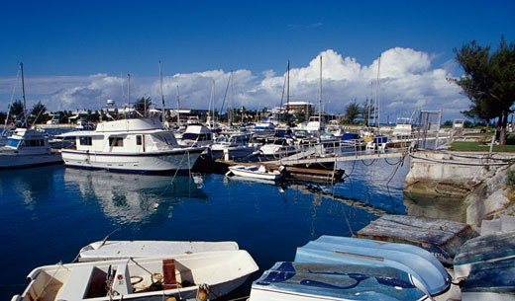 Stock Photo: 1486-685 Royal Naval Dockyard Bermuda