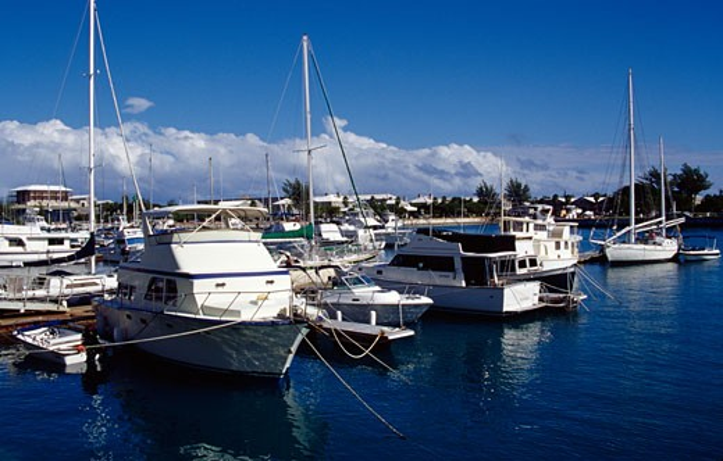 Stock Photo: 1486-686 Royal Naval Dockyard Bermuda