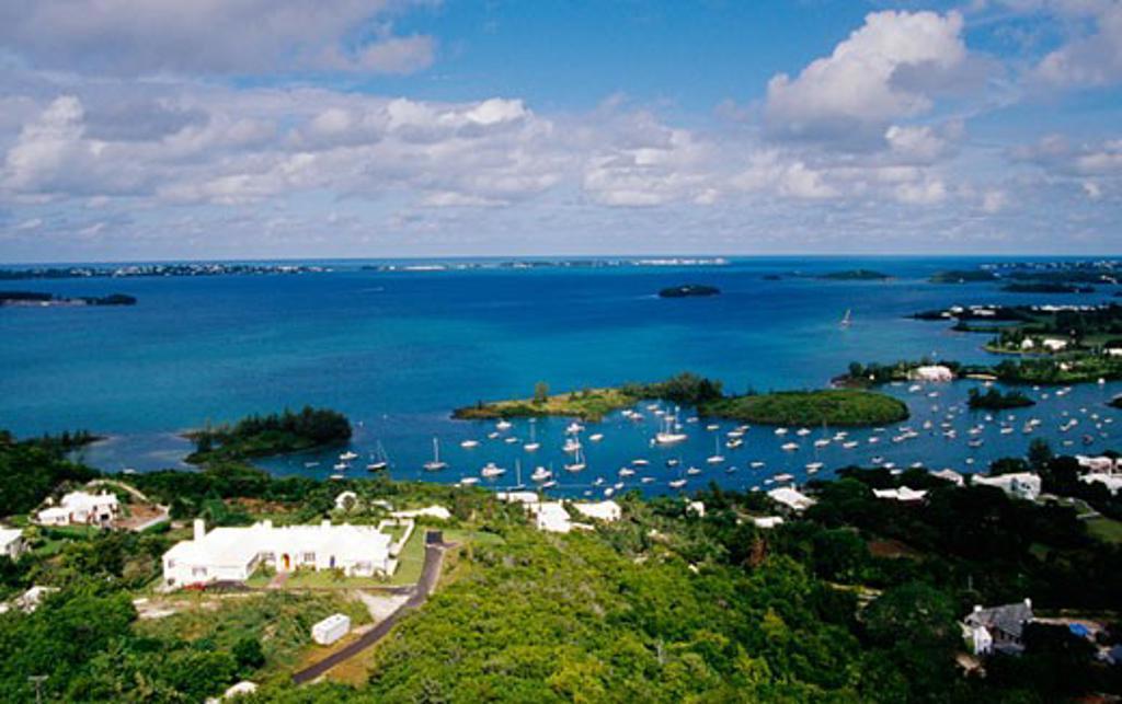 Riddles Bay Bermuda : Stock Photo