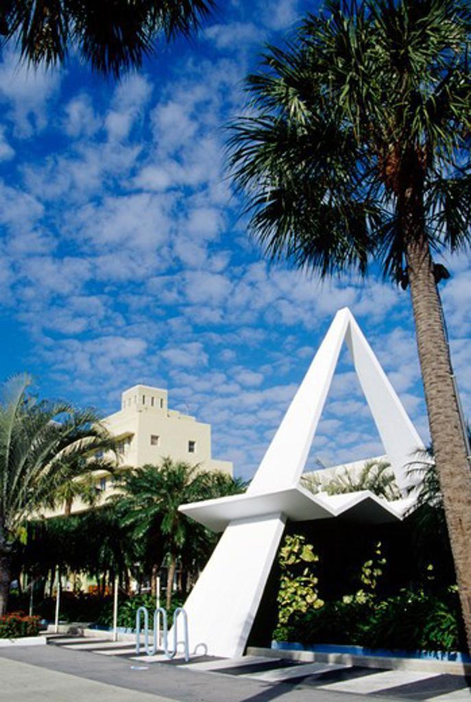 USA, Florida, Miami Beach, Lincoln Road Mall : Stock Photo