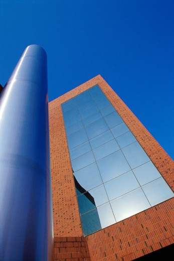 Stock Photo: 1486-7174 Low angle view of First Citizens Bank, Greensboro, North Carolina, USA