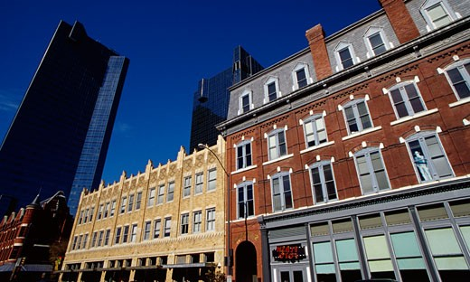 Commercial buildings in a city, City Center Tower, Fort Worth, Texas, USA : Stock Photo