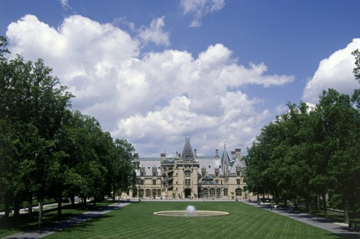 Stock Photo: 1486-7230 Biltmore Estate 