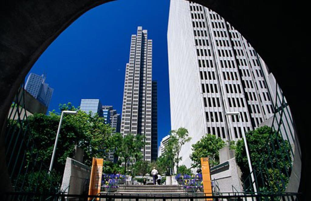 Stock Photo: 1486-7619 Buildings in a city, San Francisco, California, USA