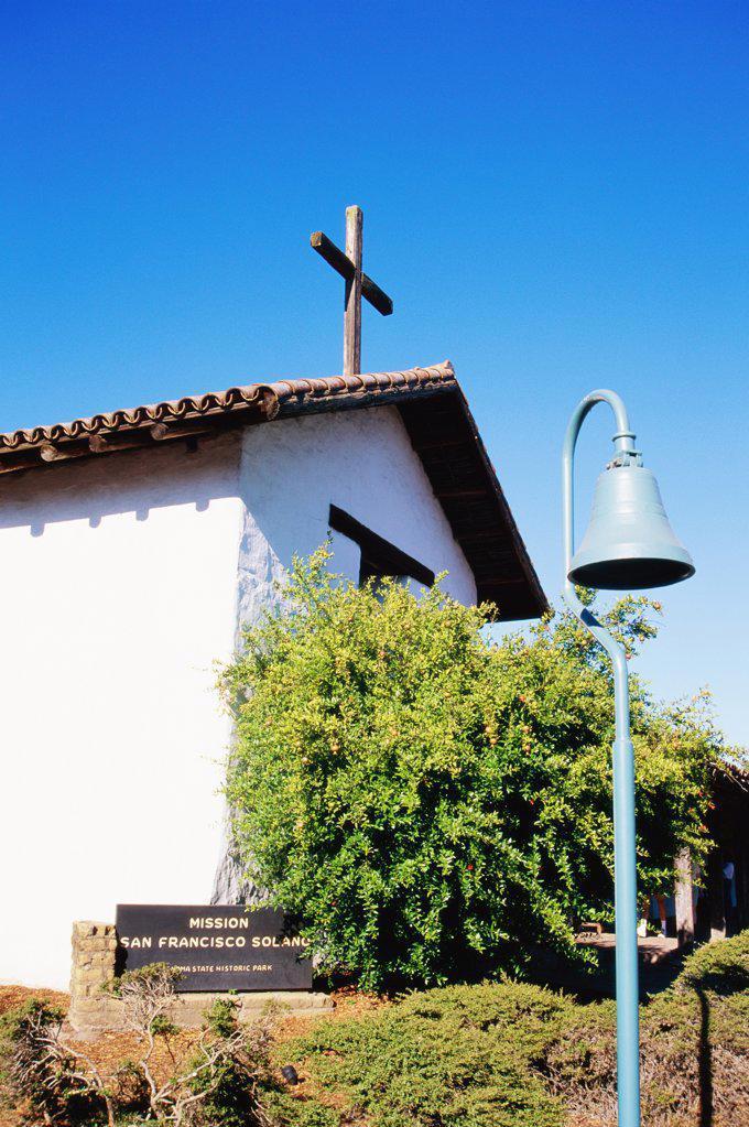 Stock Photo: 1486-7728 Mission San Francisco de Solano Sonoma California USA