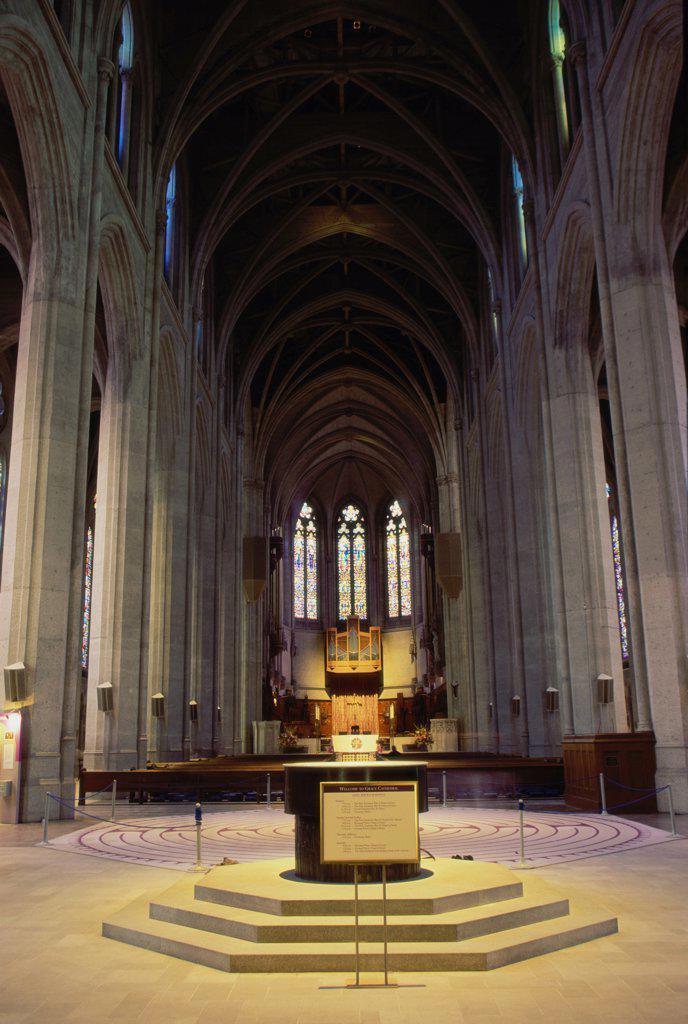Stock Photo: 1486-7730 Grace Cathedral Episcopal Church San Francisco California, USA