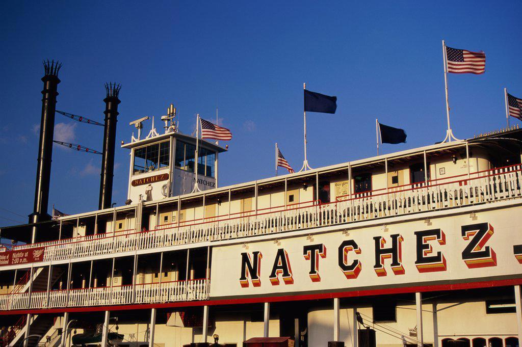 Steamboat Natchez New Orleans Louisiana, USA : Stock Photo