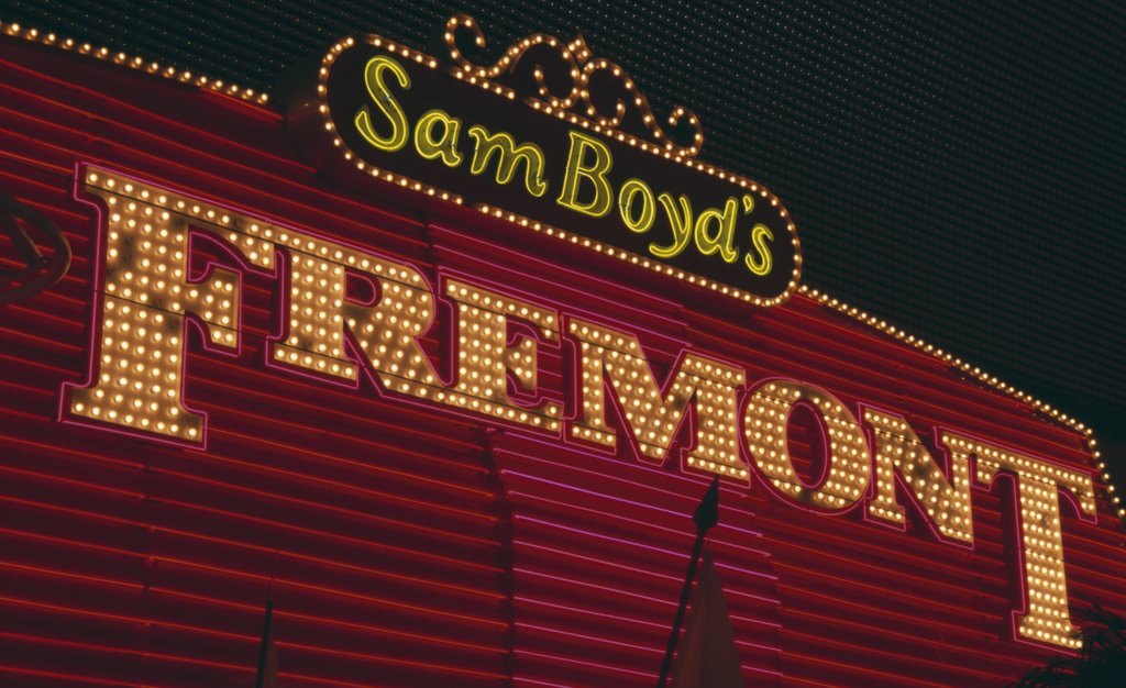 Fremont Street Las Vegas Nevada USA : Stock Photo