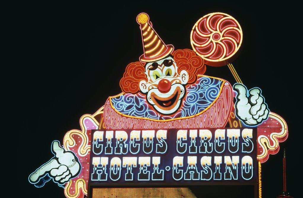 Stock Photo: 1486-8225 Circus Circus Hotel and Casino Las Vegas Nevada USA