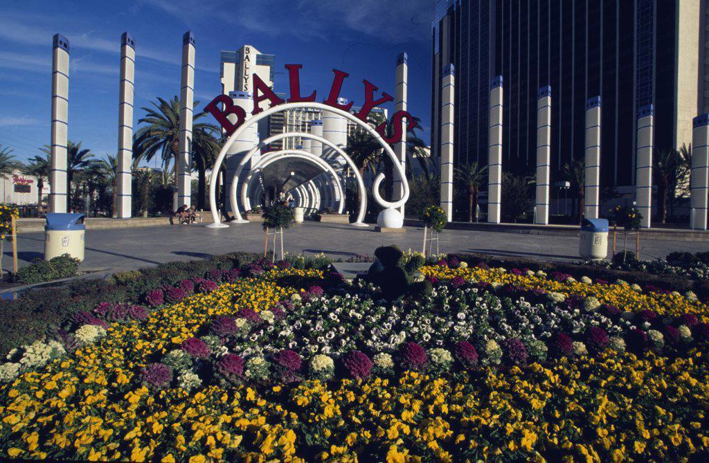 Bally's Hotel and Casino Las Vegas Nevada USA : Stock Photo