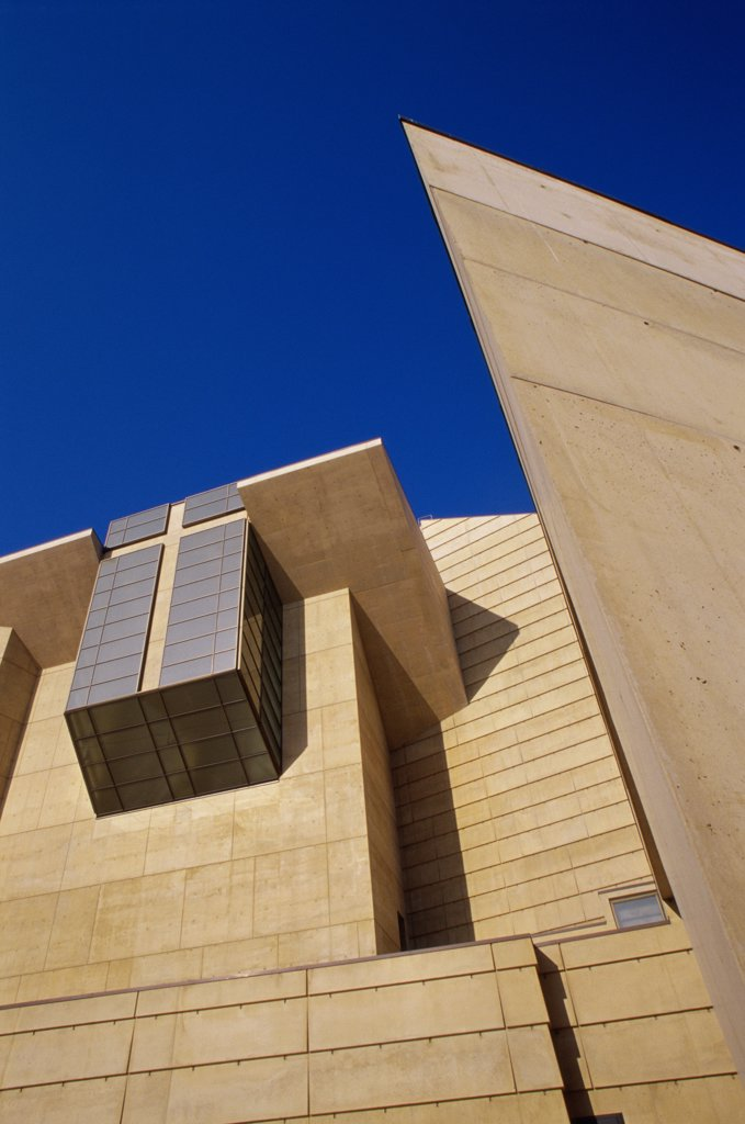 Stock Photo: 1486-8383 Cathedral of Our Lady of the Angels Los Angeles California, USA