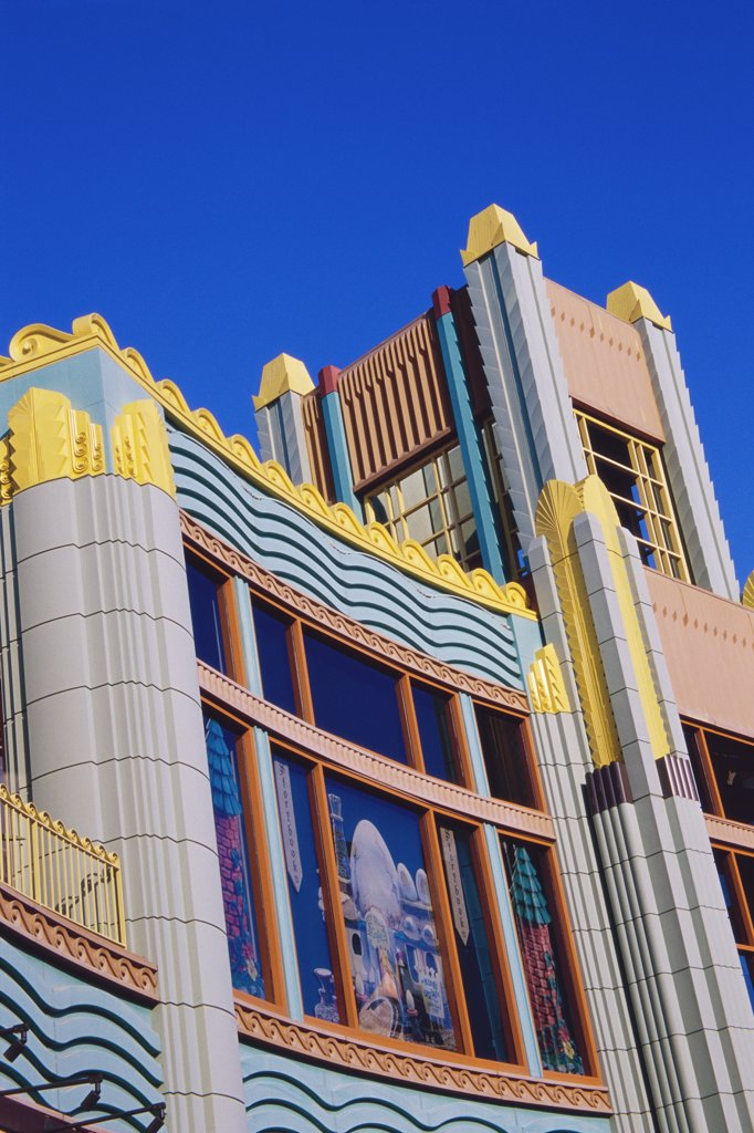 Stock Photo: 1486-8488 Downtown Disney, Anaheim, California, USA