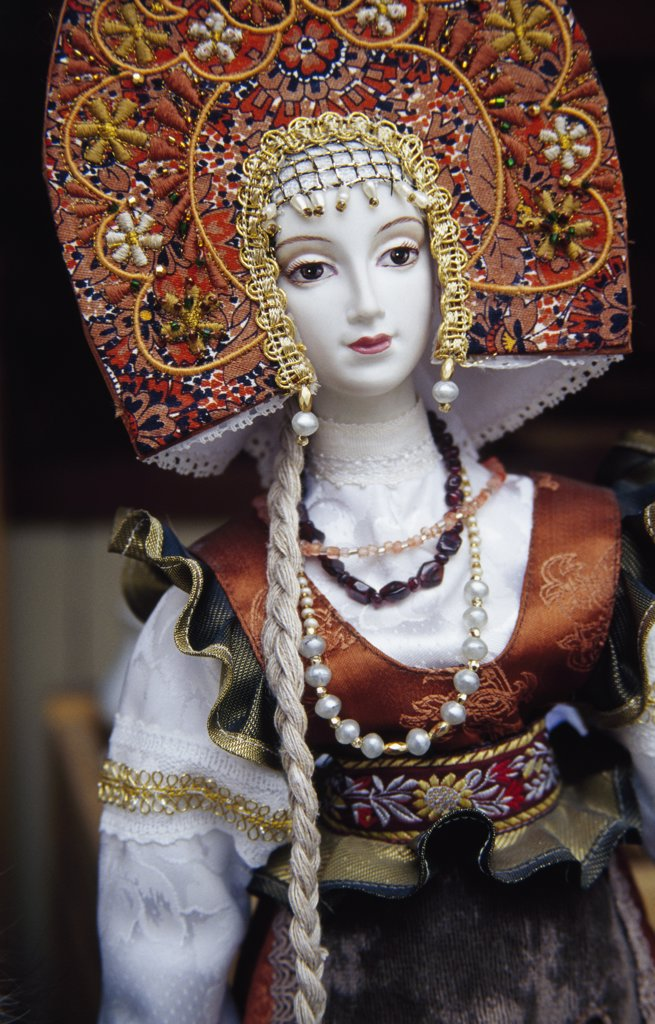 Russian Doll : Stock Photo