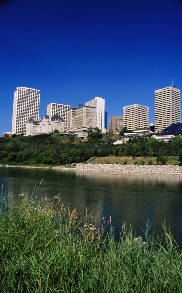 Stock Photo: 1486-8801B Saskatchewan River
