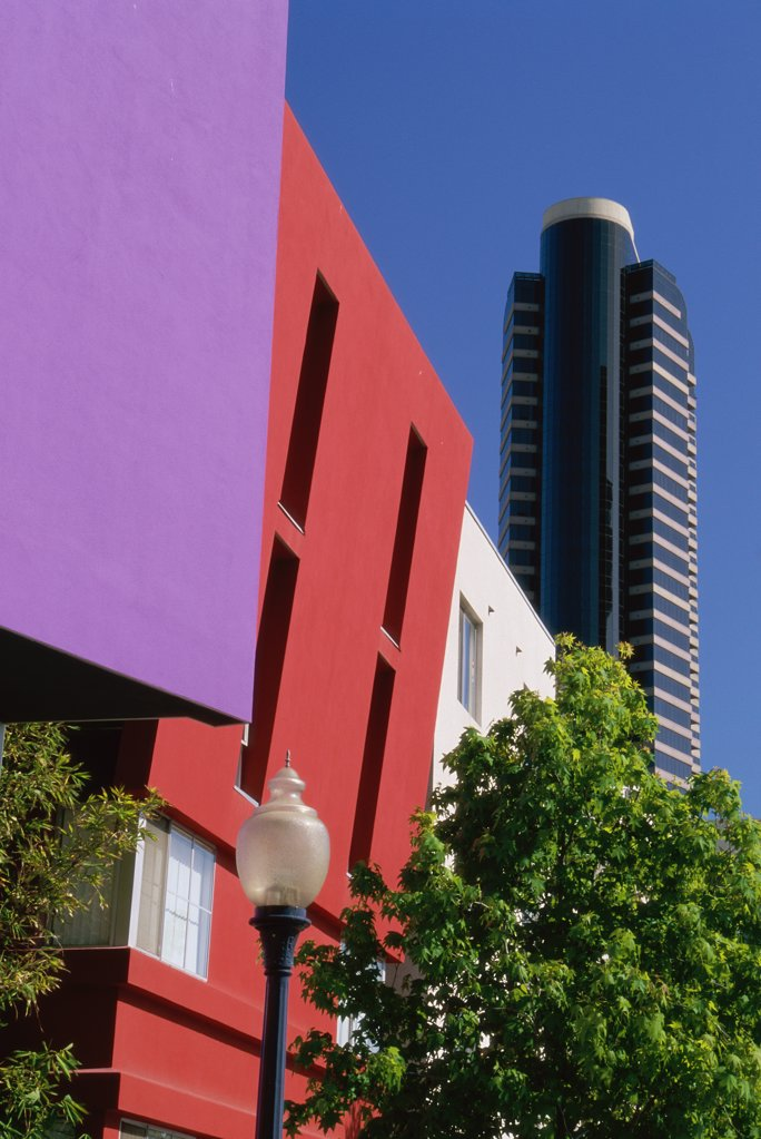 High rise buildings in a city, San Diego, California, USA : Stock Photo