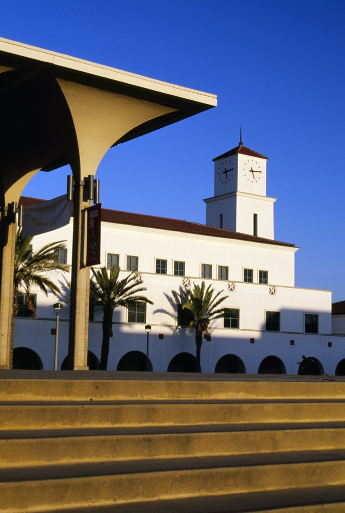 Stock Photo: 1486-9221 USA, California, San Diego, San Diego State University