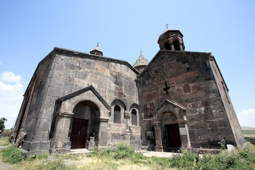 Armenia, Saghmosavan Monastery, Church of Zion : Stock Photo