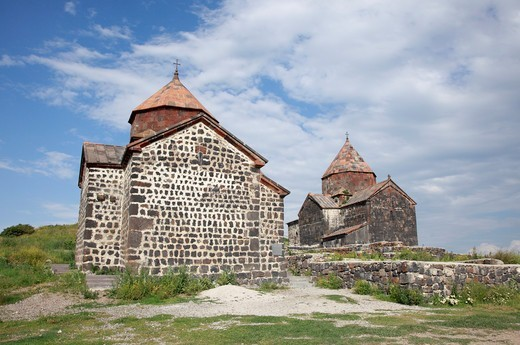 Stock Photo: 1488-1258 Armenia, Lake Sevan Goshavank Churches