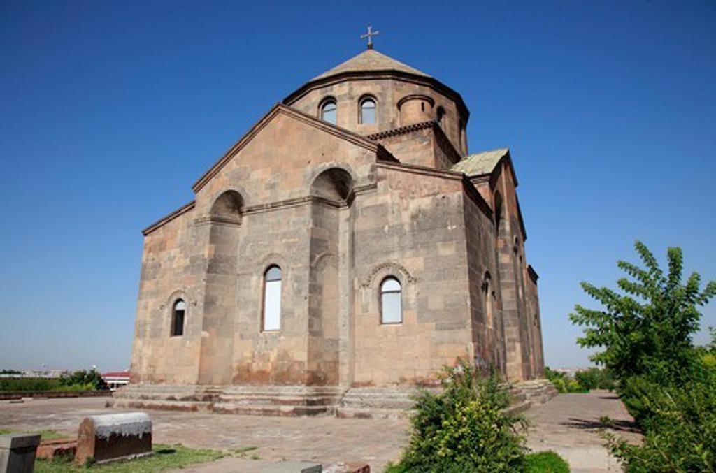 Armenia, near Yerevan, St. Hripsime Church : Stock Photo