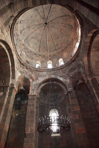 Stock Photo: 1488-1266 Armenia, St. Hripsime Church Interior