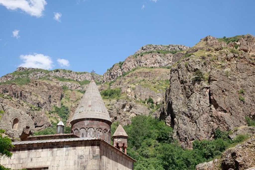 Stock Photo: 1488-1268 Armenia, Geyhard Rock Monastery