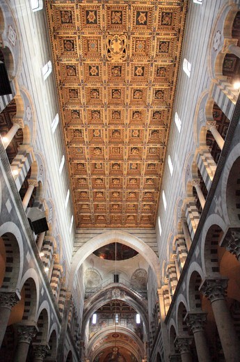 Stock Photo: 1488-1384 Italy, Pisa, Cathedral interior