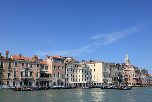 Italy, Venice, Waterfront : Stock Photo