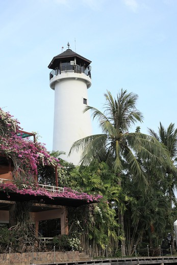 Stock Photo: 1488-735 Low angle view of a lighthouse, Phuket, Thailand