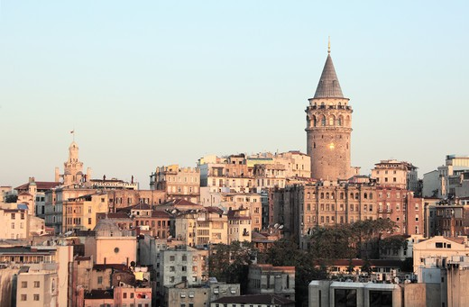 Galata Tower, Istanbul, Turkey : Stock Photo