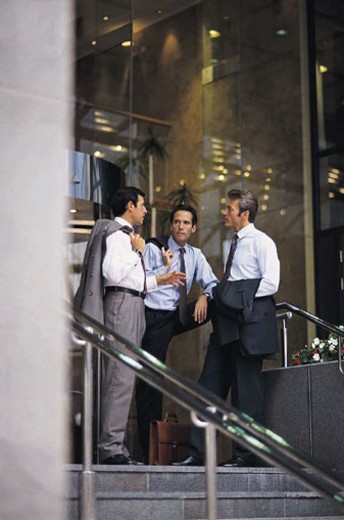 Businessmen discussion : Stock Photo
