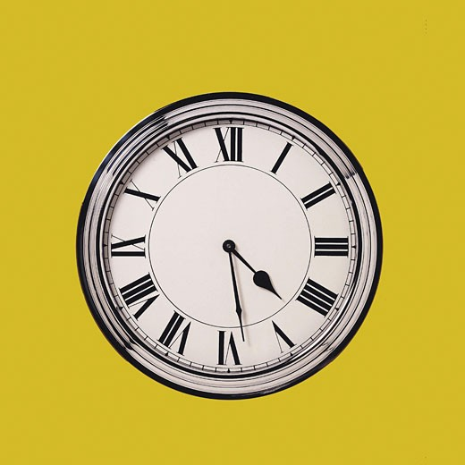 Stock Photo: 1491R-1014668 Clock face
