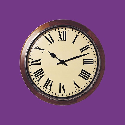 Stock Photo: 1491R-1014669 Clock face