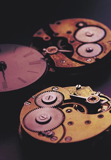 Stock Photo: 1491R-1014830 Watchpieces