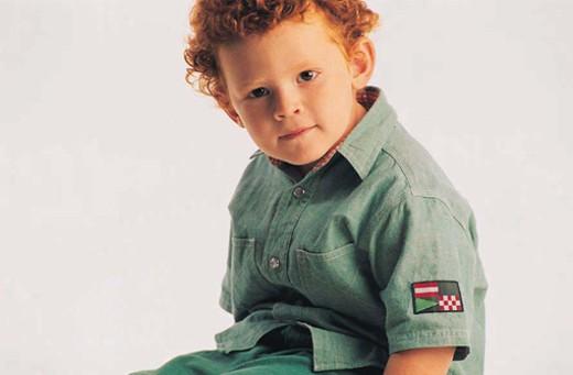 Stock Photo: 1491R-1015097 White boy