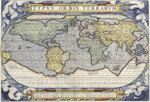 Stock Photo: 1491R-1016923 Map of the World