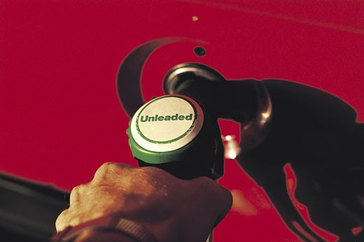 Stock Photo: 1491R-1017178 Unleaded gasoline