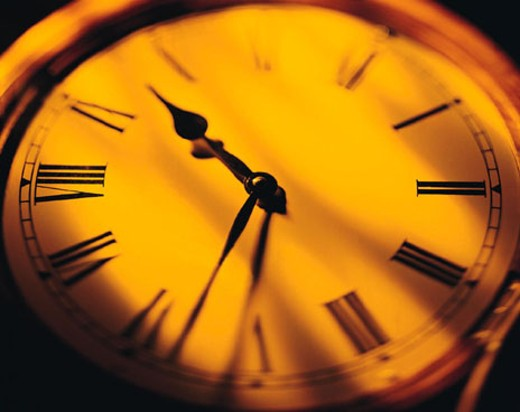Stock Photo: 1491R-1017248 Clock hands