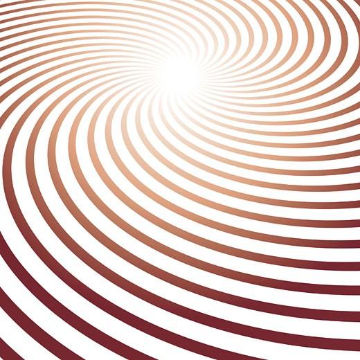 Swirled pattern of magenta lines : Stock Photo