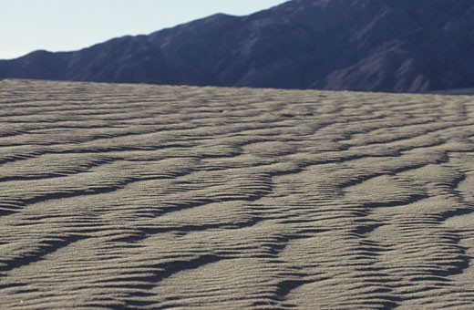 Sand Patterns, Death Valley, CA, USA : Stock Photo