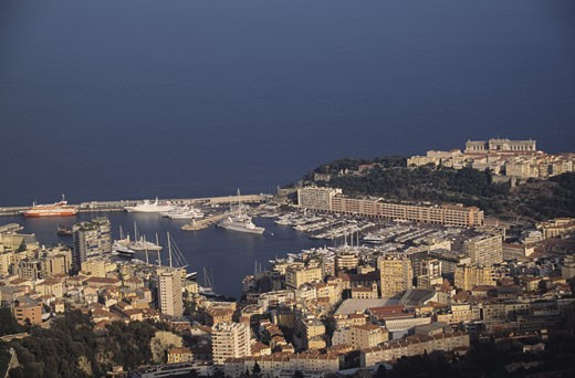 Harbor, Monte Carlo, French Riviera, Cote d' Azure, France : Stock Photo