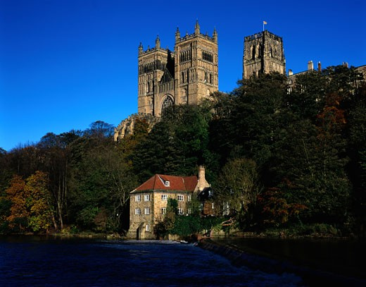 Stock Photo: 1491R-1027613 Durham Cathedral